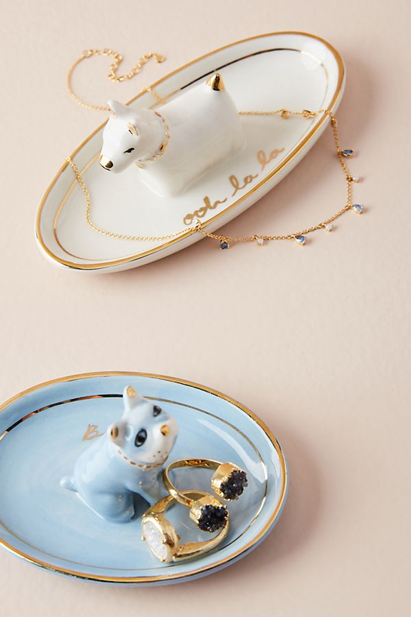 Doggie trinket dishes from Anthropologie   Cool affordable Mother's Day gifts under $15