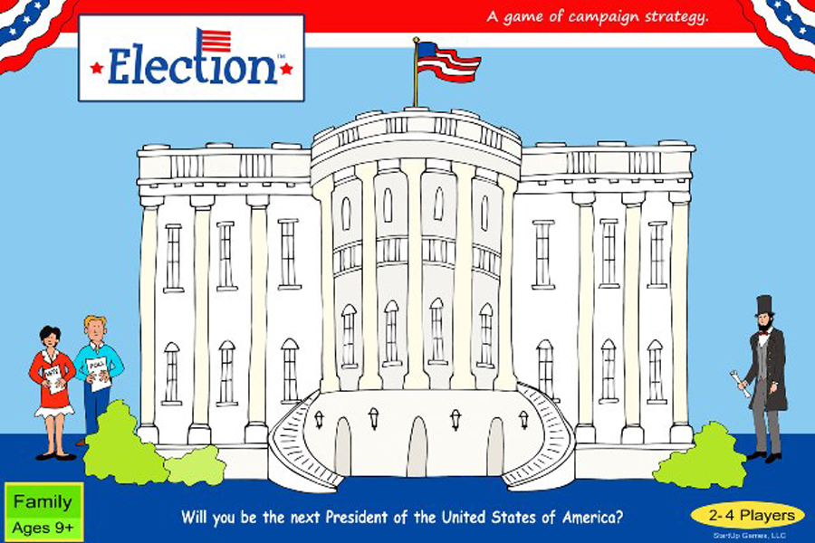 Election board game is a great way to teach kids about the voting process