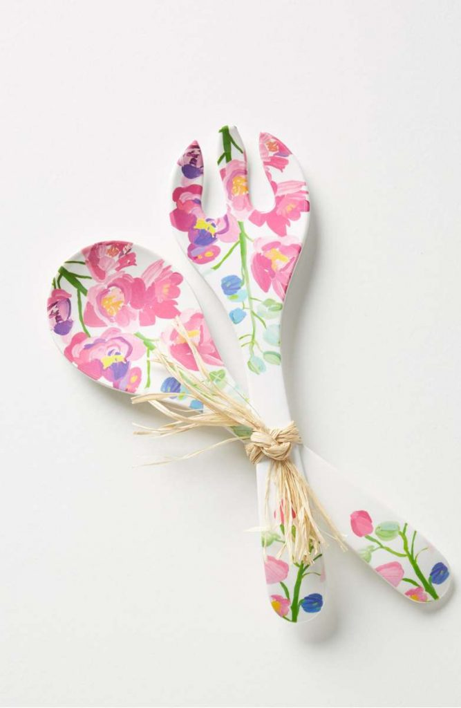 Two-piece floral serving set at Nordstrom | Cool affordable Mother's Day gifts under $15