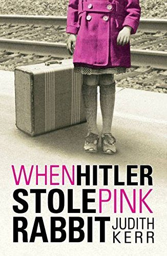 Holocaust books for kids: When Hitler Stole Pink Rabbit by Judith Kerr