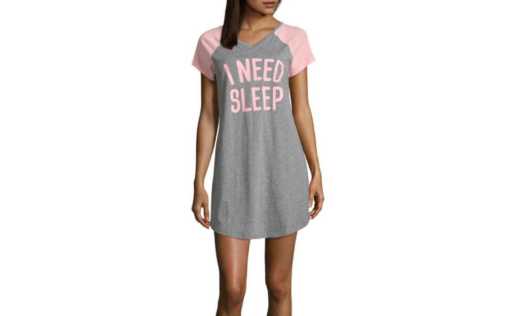 I need sleep nightshirt | Affordable mother's day gifts at JCPenney (sponsor)