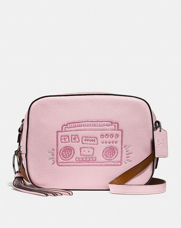 Coach X Keith Haring: Coach X Keith Haring camera handbag