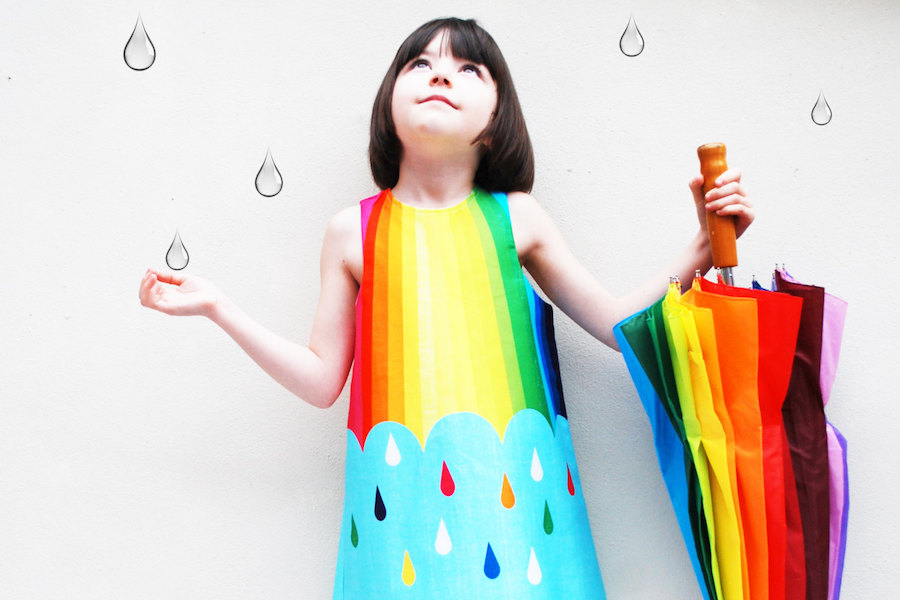 Cool kids' rainbow clothing and accessories for summer: Always in style