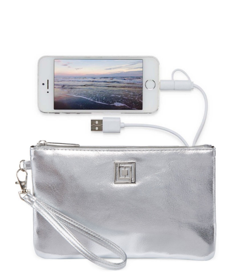 Liz Claiborne charging wristlet in 16 colors | Cool, affordable Mother's Day gifts all under $15