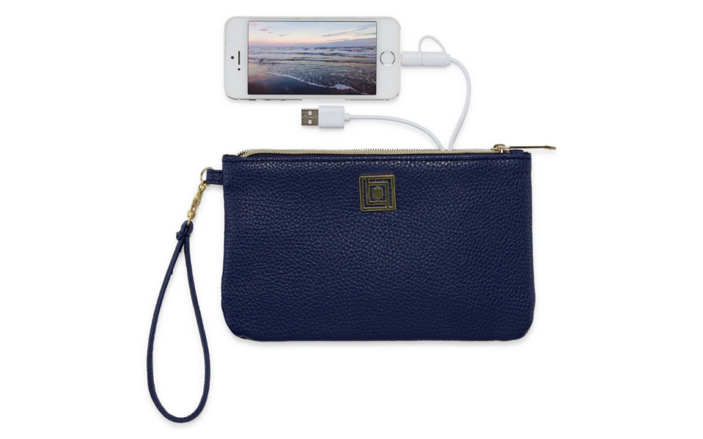 Liz Claiborne charging wristlet in 17 colors: Affordable Mother's Day gift for the mom on the go