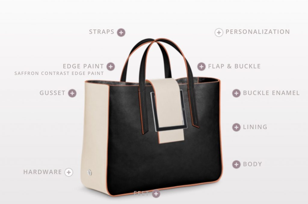 Personalized Mother's Day gifts: Totally custom luxury handbag from 1Atelier