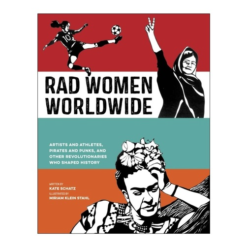 Rad Women Worldwide book | Cool, affordable Mother's Day gifts under $15