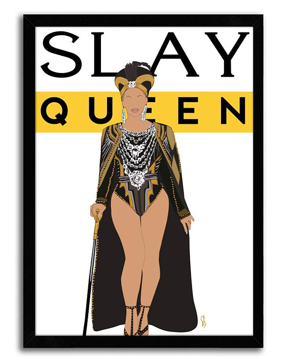 Slay Queen artwork by GNOpop | Affordable Mother's Day gifts under $15