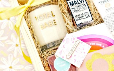 This rainbow-bright Mother's Day gift box from Studio DIY is making sure kids don't go hungry.
