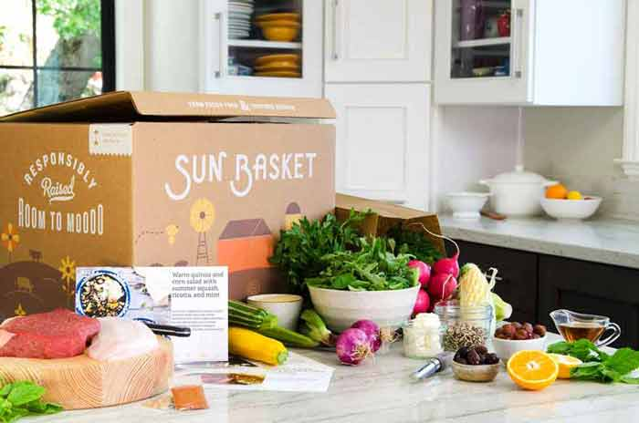 Sun Basket meal delivery service | Sponsor