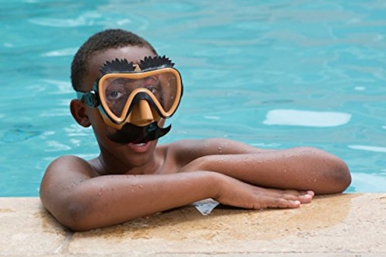 These silly swim masks are going to be the talk of the pool this summer.