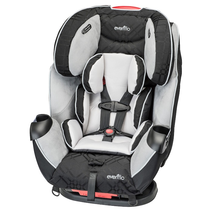 Target's car seat trade-in program: Evenflo Symphony Convertible Car Seat