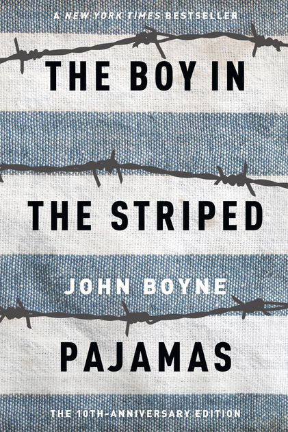 Excellent Holocaust books for kids: The Boy in the Striped Pajamas is a remarkable novel for kids about 12 and up