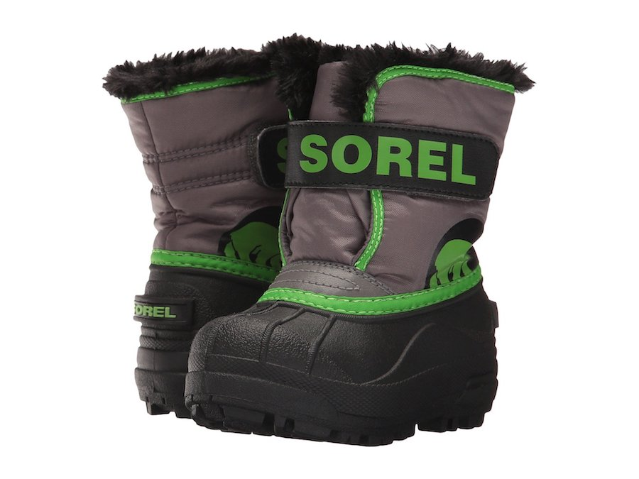 ZOMG sales! Kids SOREL snow boots at Zappos.