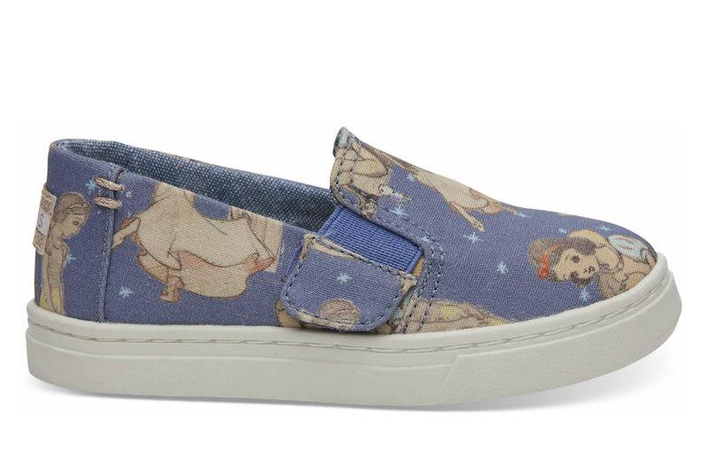 d14dcf5bc43 The new TOMS x Disney shoe collection features vintage Snow White designs.
