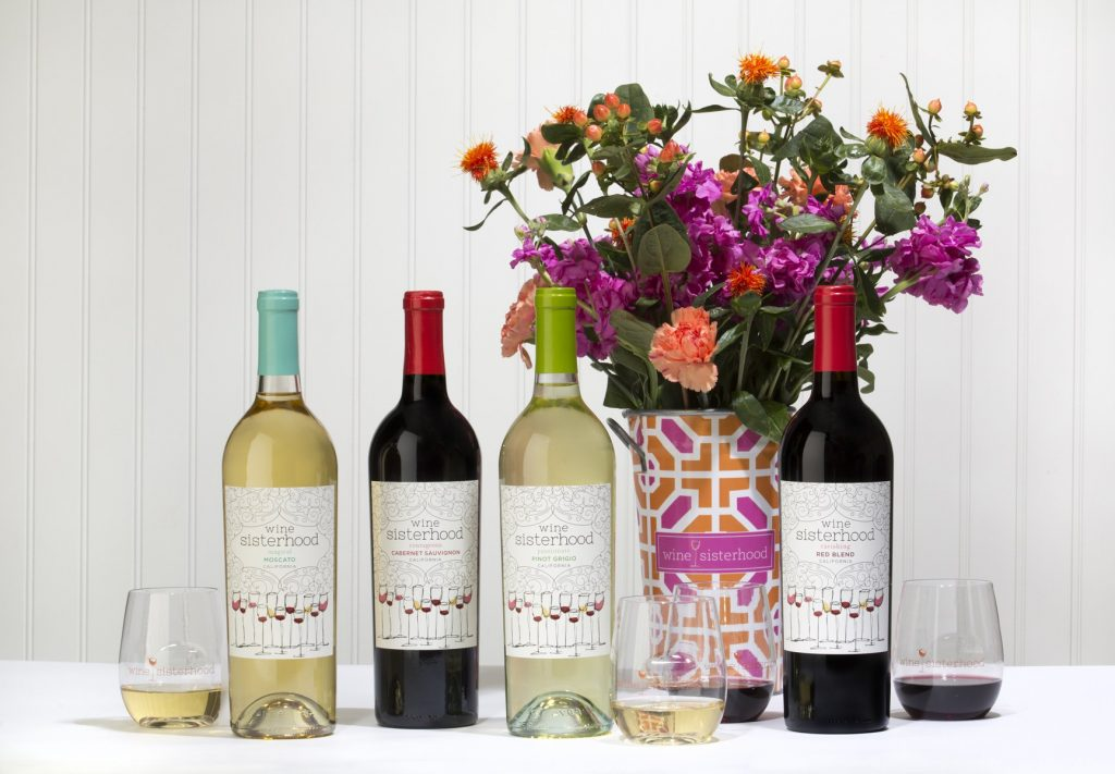 Wine Sisterhood bottle of Courageous Cabernet   Cool, affordable Mother's Day gifts under $15