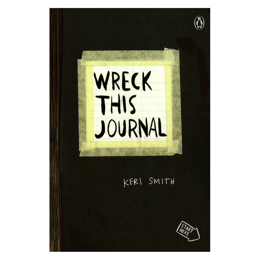 Wreck This Journal is a brilliant way to let kids get messy, be imperfect, and color way outside the l ines