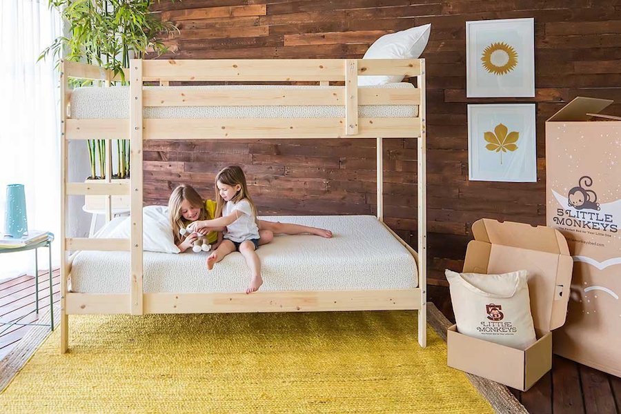 the organic kids mattress in a box