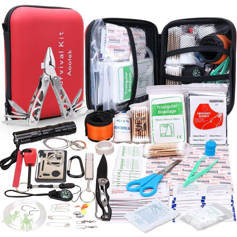 Affordable camping essentials for families: A good first-aid kit with trauma care
