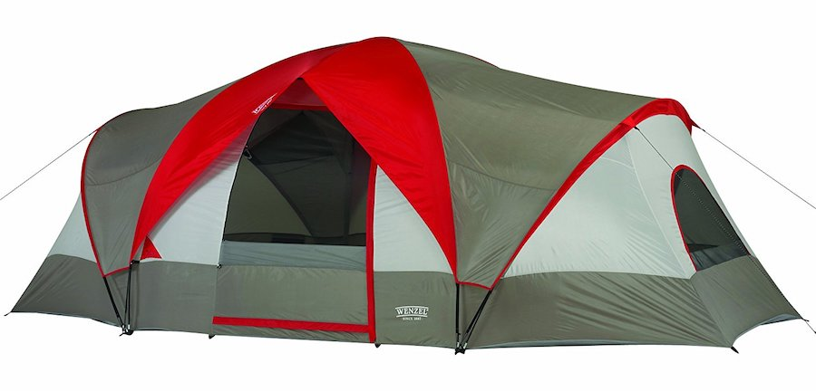 Affordable camping essentials: A good family tent, like this from Wenzel