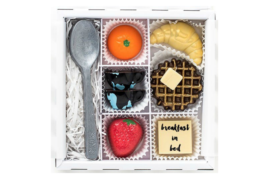 Last-minute Mother's Day gifts: Breakfast in Bed Gift Box by Maggie Louise Confections