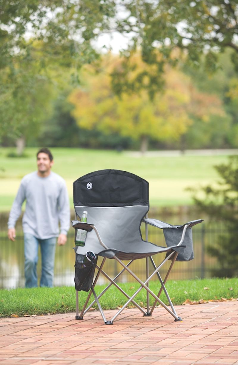 Affordable camping essentials: Camping chairs, like this one from Coleman