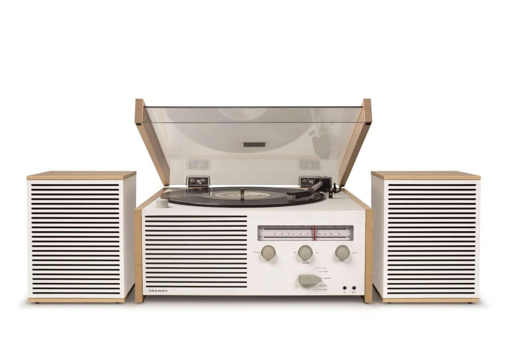 Crosley Radio Switch II Turntable & Speakers Entertainment System: Creative Father's Day gifts for the dad who has everything