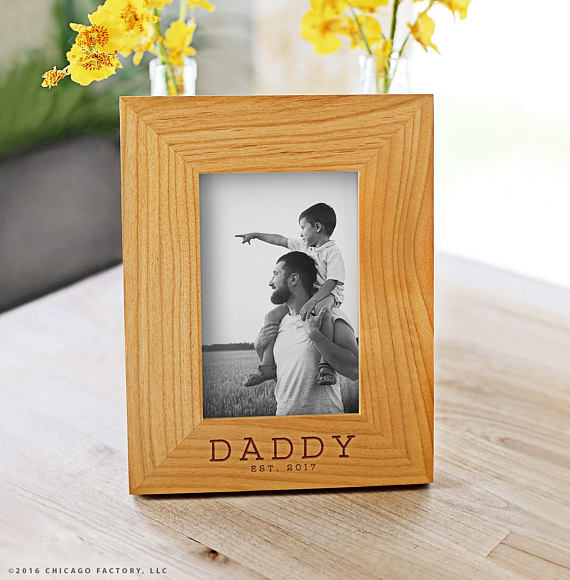 Custom wooden daddy frame | Father's Day gifts under $20