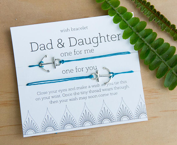 Dad-Daughter Wish Bracelet Set | Father's Day gifts under $20