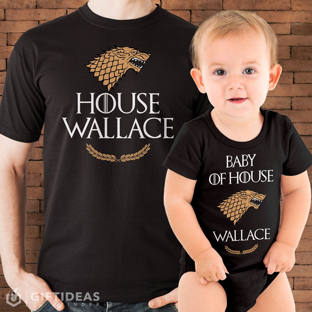 Daddy and me tees: Daddy and me Game of Thrones shirt set | Gift Ideas from Finder Etsy shop
