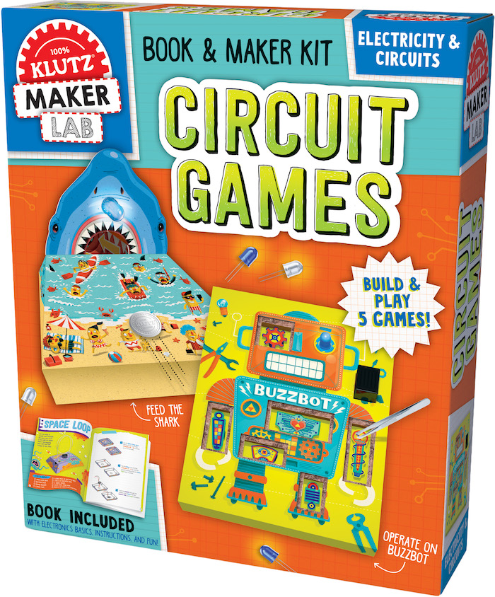 Fun summer toys for kids: Circuit Games by Klutz Maker Lab helps avoid brain drain | sponsor
