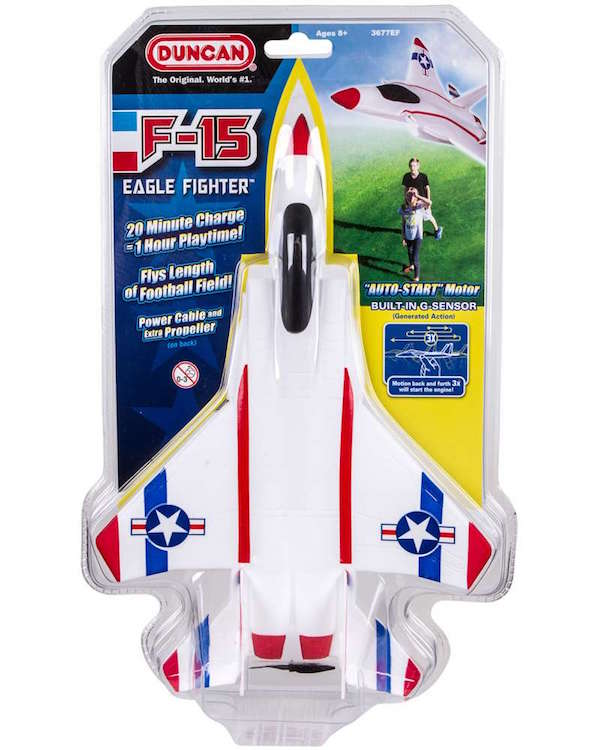 Fun summer toys for kids: F-15 Eagle Fighter by Duncan gets 1 hour of play on a single charge | sponsor
