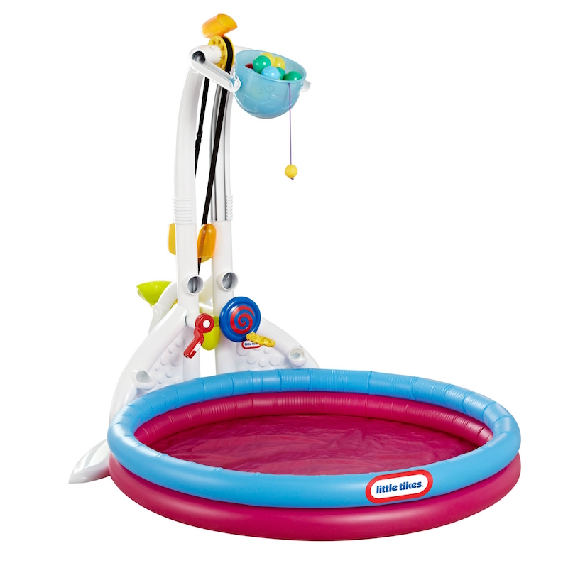Fun summer toys for kids: Fun Zone Drop Zone by Little Tikes is like your own splash park in the backyard | sponsor