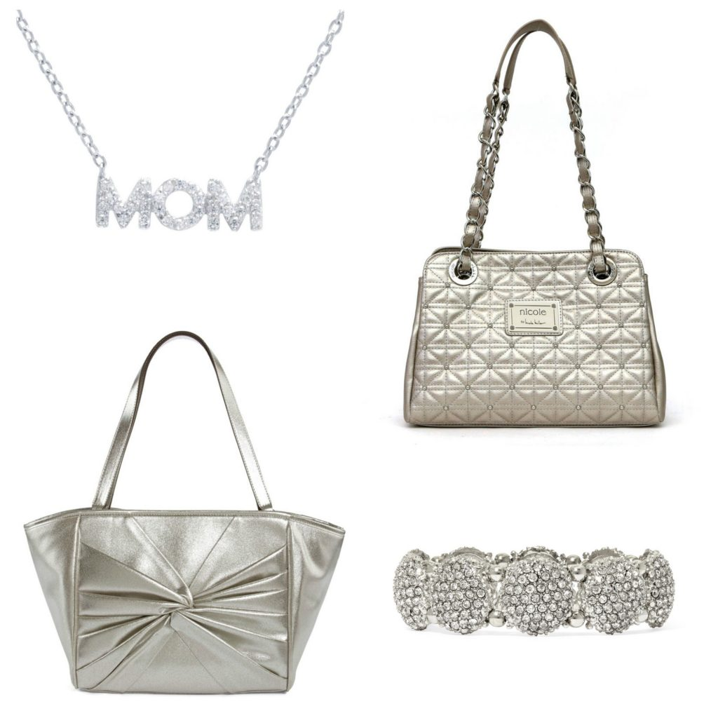Glitter and silver accesories: On point for Mother's Day at JCPenney | sponsored