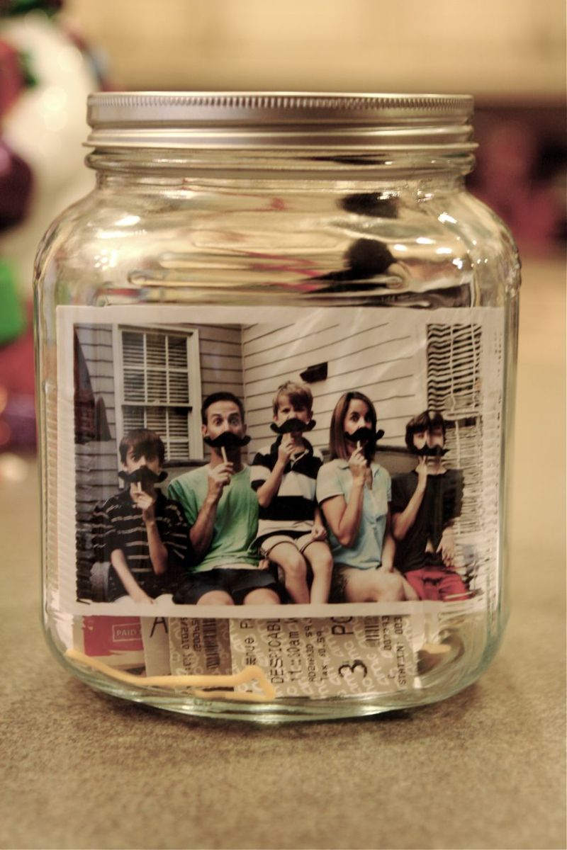 Creative photo gifts for Father's Day: DIY Photo Capsule tutorial | Kelli Crowe