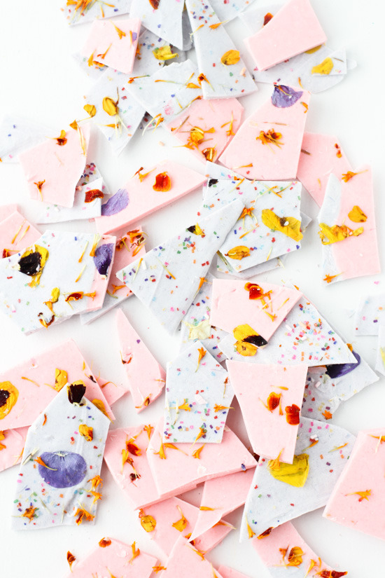 Last-minute Mother's Day gifts: Chocolate Bark by Paper & Stitch
