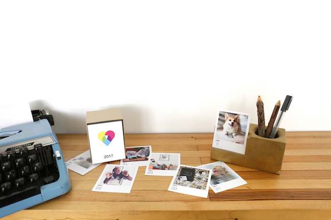 Last-minute MOther's Day gifts: Page-A-Day Instagram Calendar by Social Print Studio