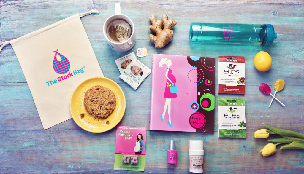 Last-minute Mother's Day gifts: The Stork Bag subscription box for expecting moms