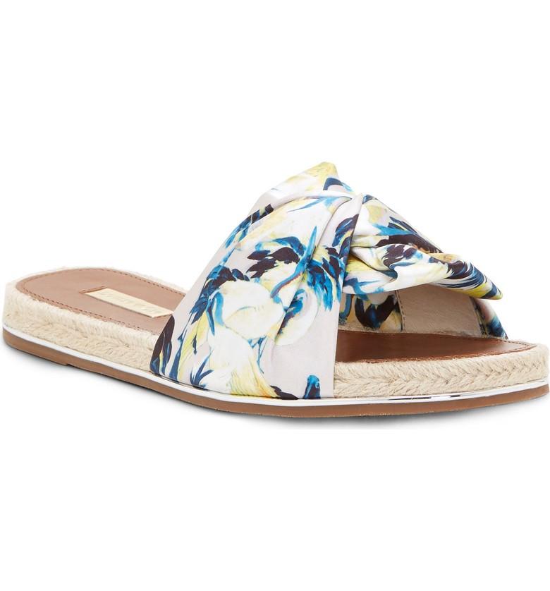 Embellished slide sandals for summer | Louise Et Ci espadrille slides