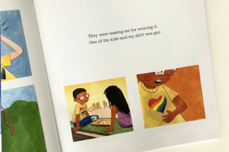 A wonderful picture book reminding us all that Love is Love.