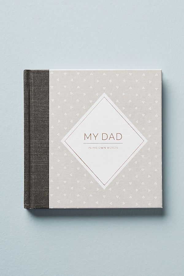 My Dad: An interview journal | Father's Day gifts under $20