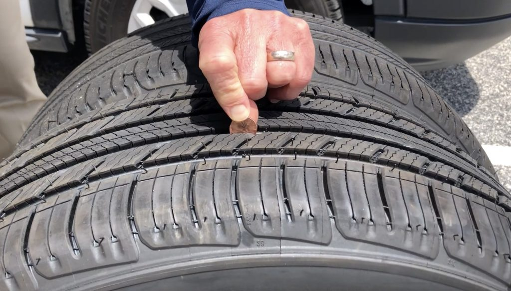 Penny test: How to check for worn tires | sponsor