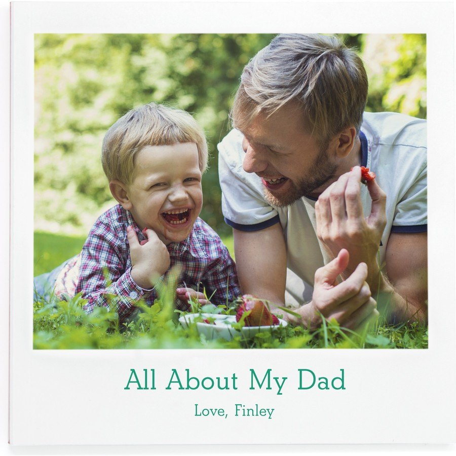 All about my dad 20-page custom photo book | Father's Day gifts under $20