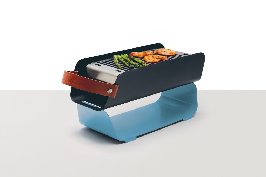 The gorgeous, portable UNA Grill: Creative Father's Day gifts for the man who has everything