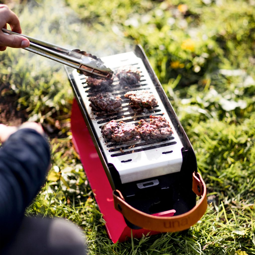 Portable UNA Grill: Creative Father's Day gifts for the man who has everything