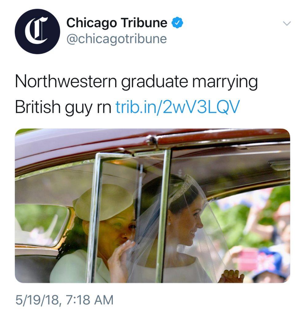 Best royal wedding tweets: Chicago Tribune