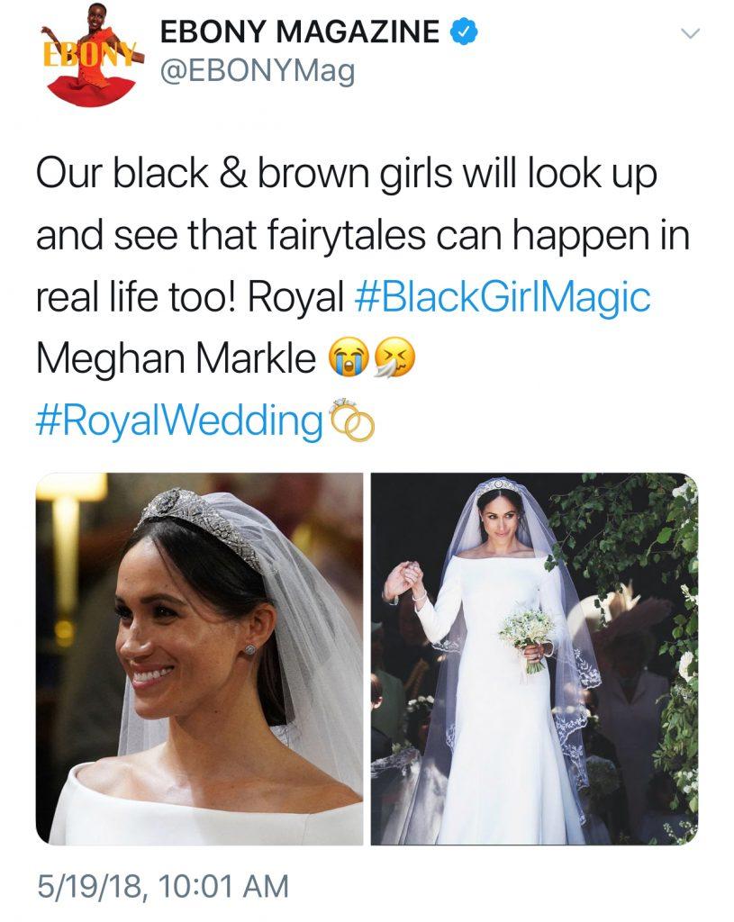 Best royal wedding tweets: Ebony Magazine
