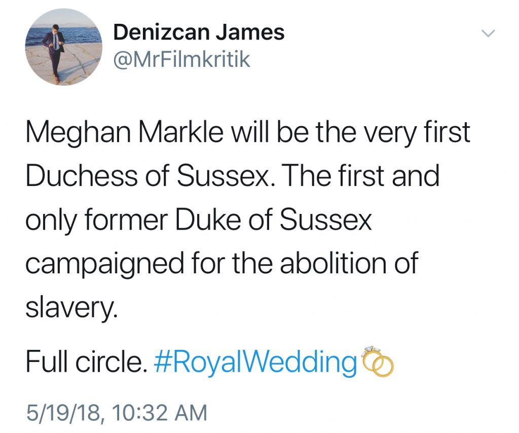 Best Royal wedding tweets: Denizcan James on the history of the Duke of Sussex