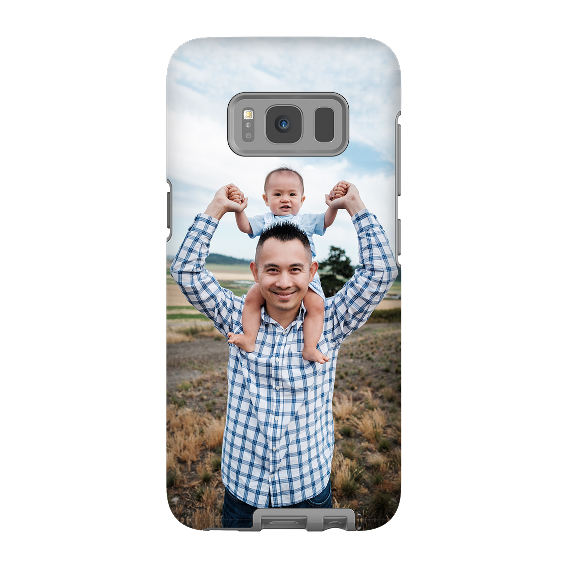 Creative photo gifts for Father's Day: Custom Photo Tough Case | Snapfish