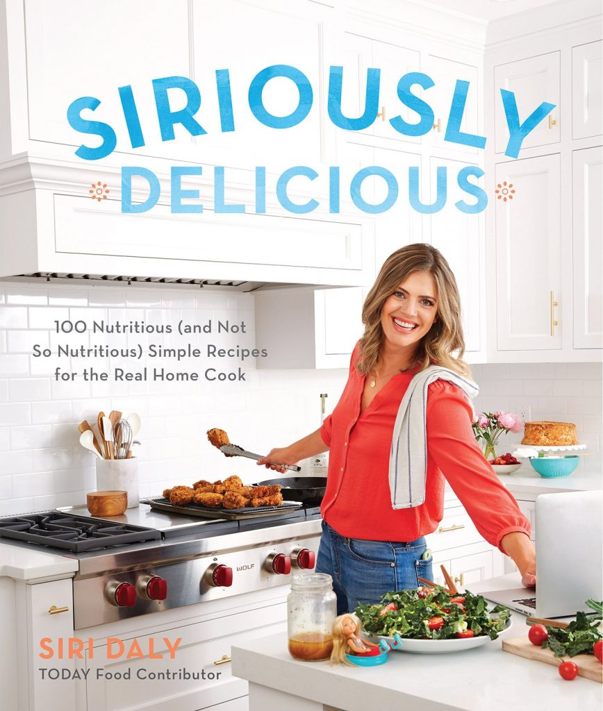 Siriously Delicious is Siri Daly's fun, common sense, bestselling cookbook to make feeding kids more enjoyable | Cool Mom Picks | #spawnedshow